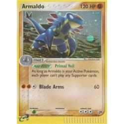 Armaldo (glimmer/holo) (mildly used condition)