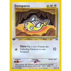Dunsparce (common) (1st edition)