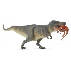 Tyrannosaurus Rex With Prey (Ny CollectA figur)