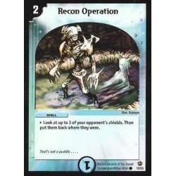Recon Operation (Common)