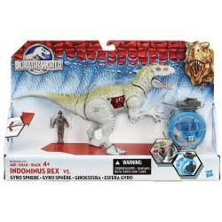 Indominus Rex vs. Gyro Sphere