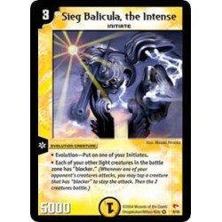 Sieg Balicula, the Intense (Very Rare)
