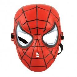 Spiderman maske (rød)