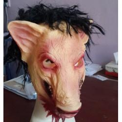 Grise latex maske fra gyserfilmen SAW