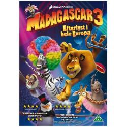 Madagascar 3 Efterlyst i hele Europa (ny dvd)