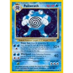 Poliwrath (holo rare) (brugt stand)