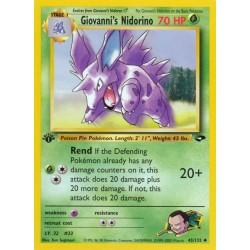 Giovanni's Nidorino (uncommon)