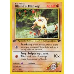 Blaine's Mankey (common)