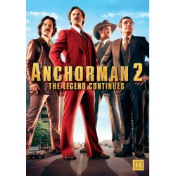Anchorman 2 The Legend Continues (ny dvd)