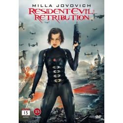 Resident Evil: Retribution (ny dvd)