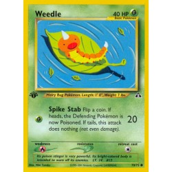 Weedle (common) (1st edition)