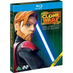 Star Wars: Clone Wars Sæson 5 (ny Blu-ray)