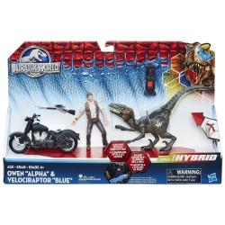 "Owen ""Alpha"" & Velociraptor ""Blue"" (JW Dino Hybrids)"
