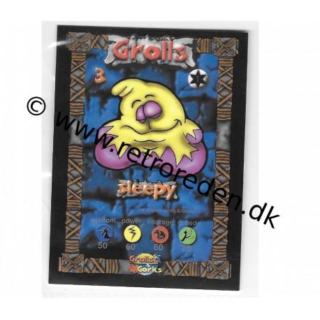 Sleepy (Grolls&Gorks card)