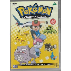 Pokemon Advanced: Den Frygtløse Taillow (brugt dvd)