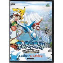 Pokemon 5: Heroes Latios & Latias (brugt dvd)