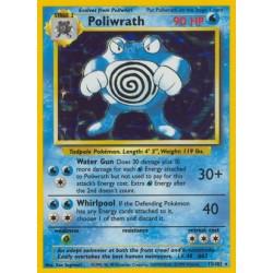Poliwrath (holo/glimmer) (Slidt kort)
