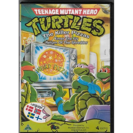 Ninja Turtles DVD nr 2 (ny dvd)