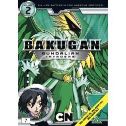 Bakugan Gundalian Invaders: Vol 2 (brugt dvd)