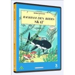 Tintin - Rackham Den Rødes Skat (brugt dvd)