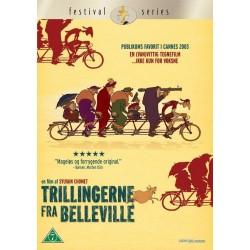 Trillingerne fra Belleville (brugt dvd)