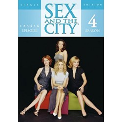 Sex and the City sæson 4 episode 1-6 (brugt dvd)