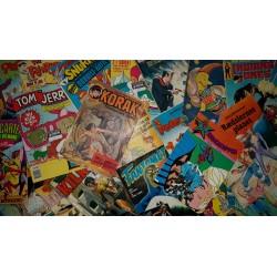 25 forskellige tegneserier fra 25 serier