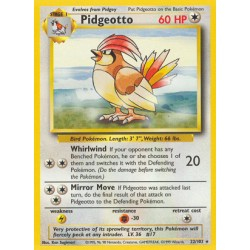 Pidgeotto (rare) (brugt stand)