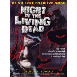Night of the Living Dead (brugt dvd)