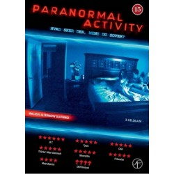 Paranormal Activity (brugt dvd)