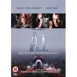 A. I. Kunstig Intelligens (brugt dvd)