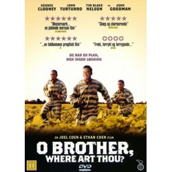 O Brother, Where Art Thou? (brugt dvd)