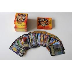 84 Dinosaur King kort + beholder og kortlommer