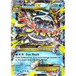 Mega Glalie EX (ultra rare)