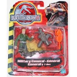 Military General & T-Rex (Jurassic Park 3) (Ny)