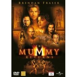 The Mummy Returns (brugt dvd)
