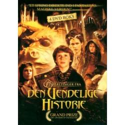 Fortællinger fra den uendelige historie: Den komplette serie (ny dvd)