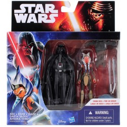 Darth Vader and Ahsoka Tano Space Mission 2-Pack Star Wars