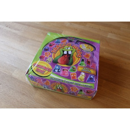 Dracco Heads Box - Original Display with 36 blindbags!!!