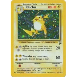 Raichu (holo rare)