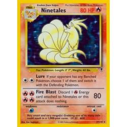Ninetales (holo rare) (moderately played)
