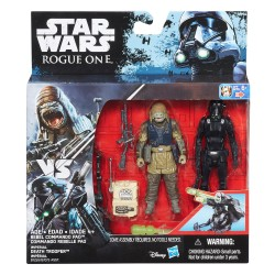 Rebel Commando Pao og Death Trooper - Star Wars Rogue One figurer