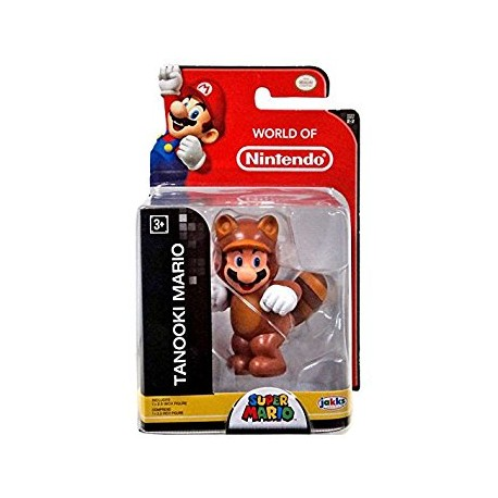Tanooki Mario World of Nintendo figur