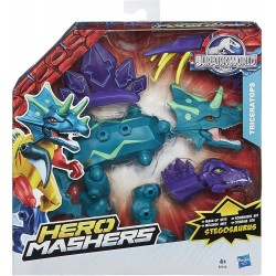Triceratops Jurassic World Hero Mashers