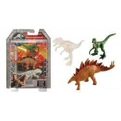Indominus Rex, Velociraptor & Stegosaurus (Mini dinos)