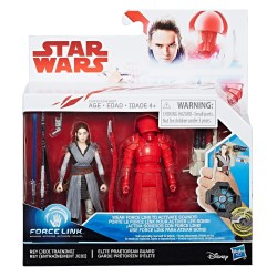 Star Wars - Episode 8 - Deluxe Figure 2-Pack - Rey & Elite Praetorian Guard