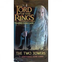 The Lord of the Rings TCG  The Two Towers Booster Pack