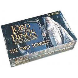 The Lord of the Rings Two Towers Booster Display Box