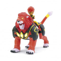 Gormiti - Hyper Beast + 7 cm Hearlds, Pyron & Riff