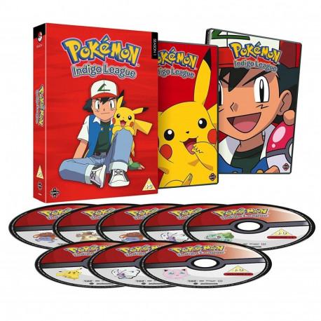 Pokemon Indigo League: Complete S1 (Bestillingsvare) (Engelsk Sprog)